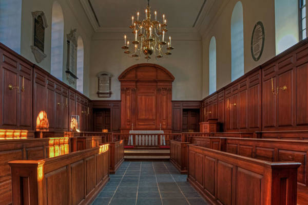 Photograph - The Wren Chapel At William And Mary by Jerry Gammon