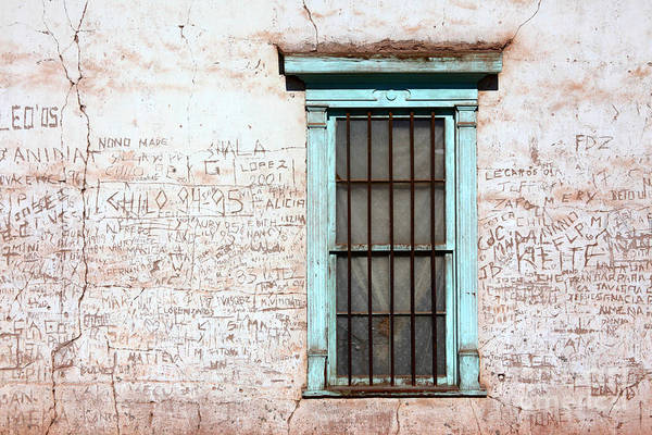 Photograph - The Writing On The Wall by James Brunker