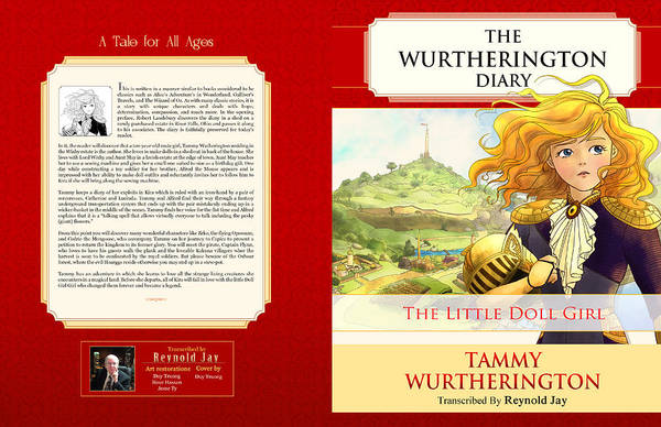 Painting - The Wurtherington Diary Cover by Reynold Jay