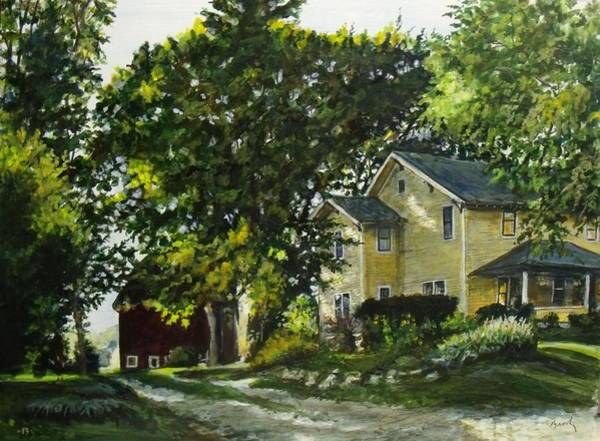 Painting - The Yellow House by William Brody