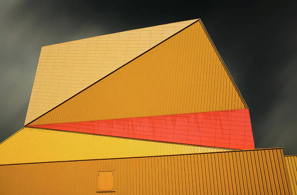 Wall Art - Photograph - The Yellow Roof by Gilbert Claes