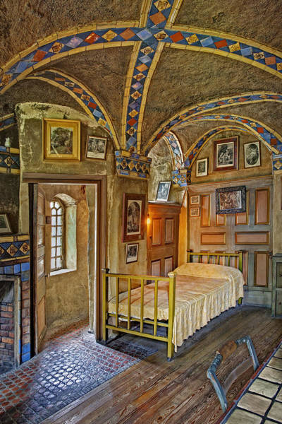 Photograph - The Yellow Room At Fonthill Castle by Susan Candelario