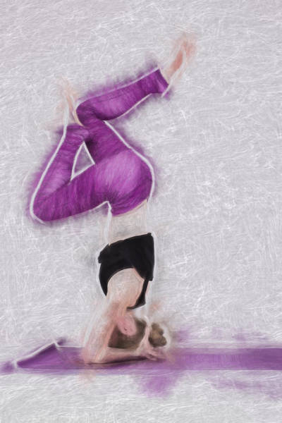 Photograph - The Yoga Yogi Master by David Haskett II