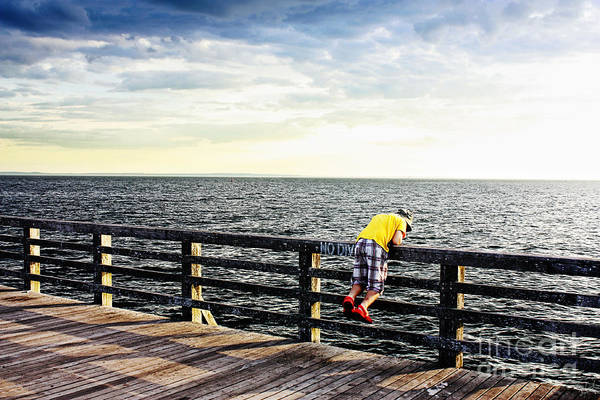 Fisher Island Photograph - The Young Fisherman by Nishanth Gopinathan