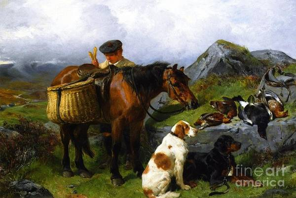 Painting - The Young Gamekeeper by Celestial Images