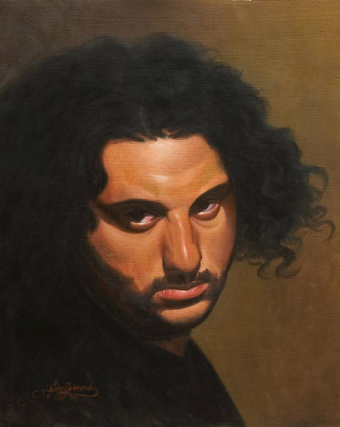 Wall Art - Painting - The Young Italian by Gary  Hernandez