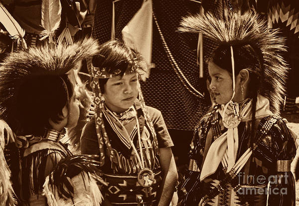 Photograph - The Young Warriors - 2 by Paul W Faust -  Impressions of Light