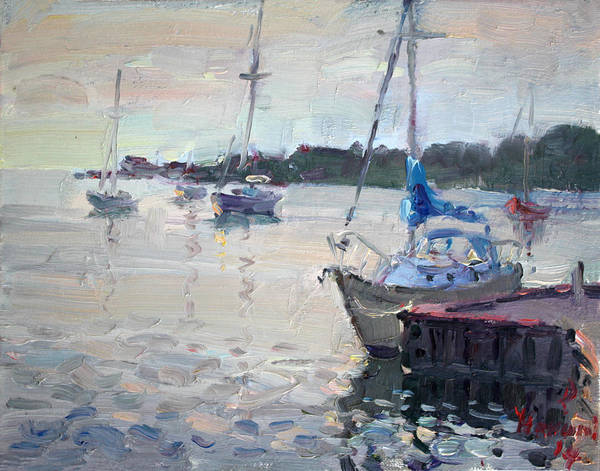 Yacht Wall Art - Painting - The Youngstown Yachts by Ylli Haruni