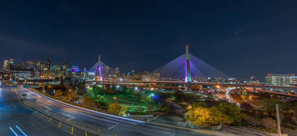 The Zakim Bridge Art Print
