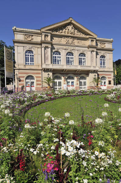 Baden Wuerttemberg Photograph - Theater Building Baden-baden Germany by Matthias Hauser