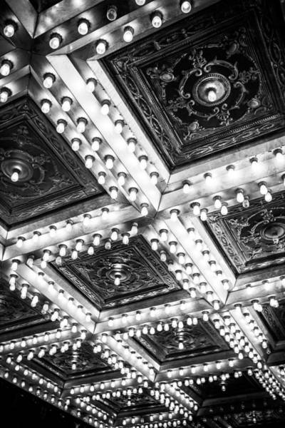 Photograph - Theater Lights by Melinda Ledsome