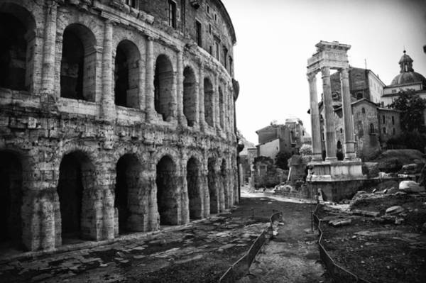 Photograph - Theatre Of Marcellus by Melany Sarafis