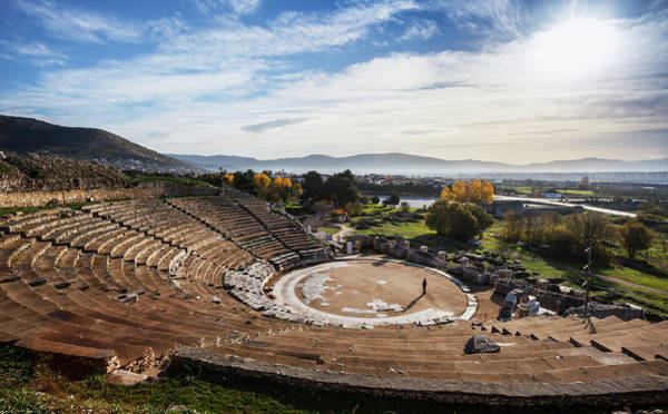 Wall Art - Photograph - Theatre Of Philippi  Philippi, Greece by Reynold Mainse