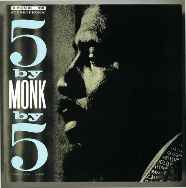 Wall Art - Digital Art - Thelonious Monk -  5 By Monk By 5 by Concord Music Group
