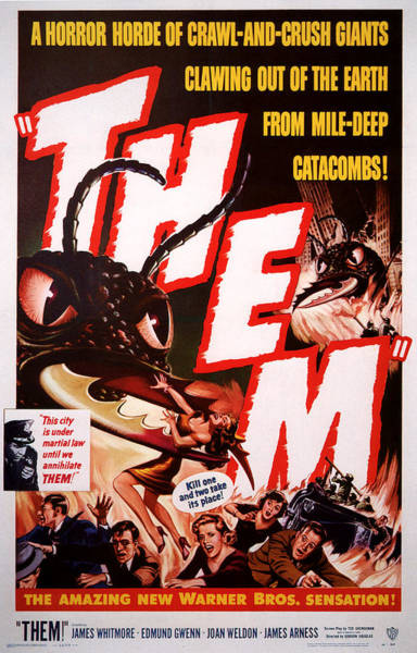 Ant Mixed Media - Them 1954 by Presented By American Classic Art