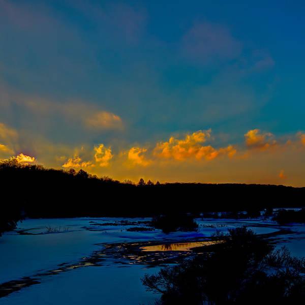 Photograph - Thendara Sunset by David Patterson