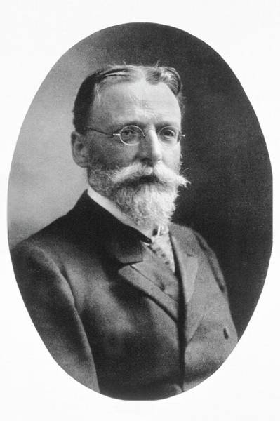 Outstanding Photograph - Theodor Escherich by National Library Of Medicine