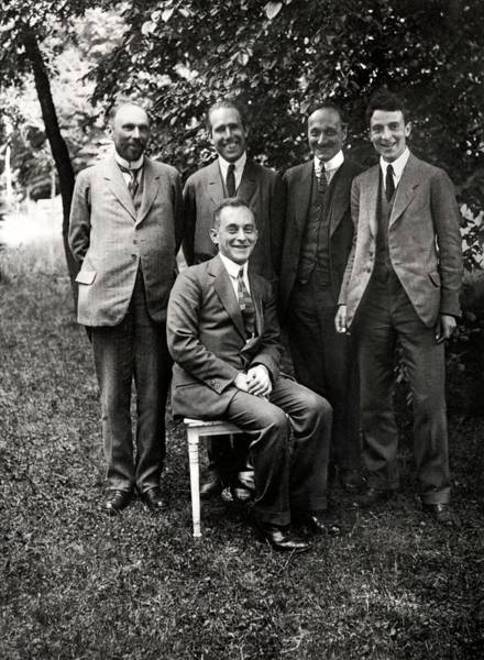 Nobel Wall Art - Photograph - Theoretical Physicists by American Philosophical Society