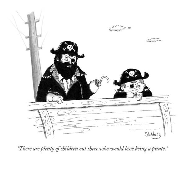 Avi Steinberg Drawing - There Are Plenty Of Children Out There Who by Avi Steinberg