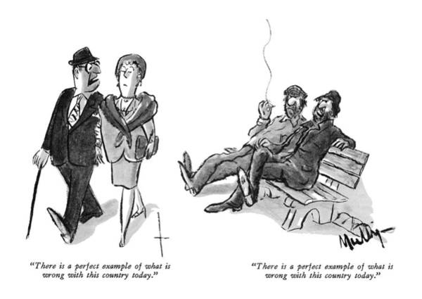 Arrogance Drawing - There Is A Perfect Example Of What Is Wrong by James Mulligan