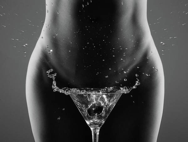 Splash Photograph - Therea?s Your Drink, Sir... by Artistname