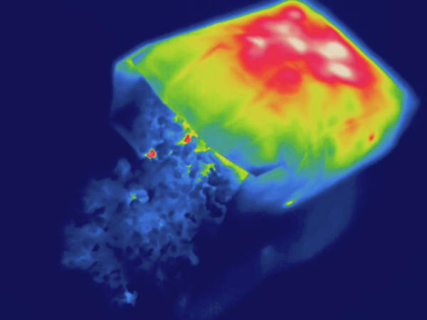 Ir Photograph - Thermogram by Science Stock Photography/science Photo Library