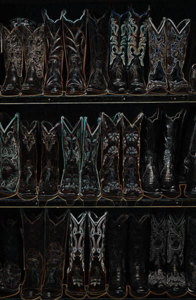 Digital Art - These Boots Are Made For Walking 2 by Jani Freimann
