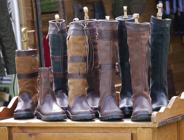 Photograph - These Boots Are Made For Walking by Richard Reeve
