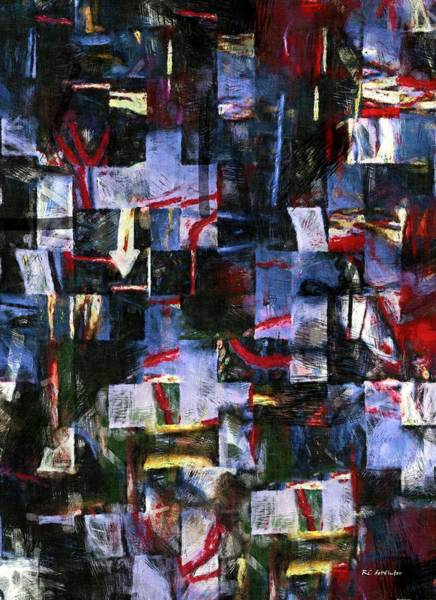 Painting - The News Of The World by RC DeWinter