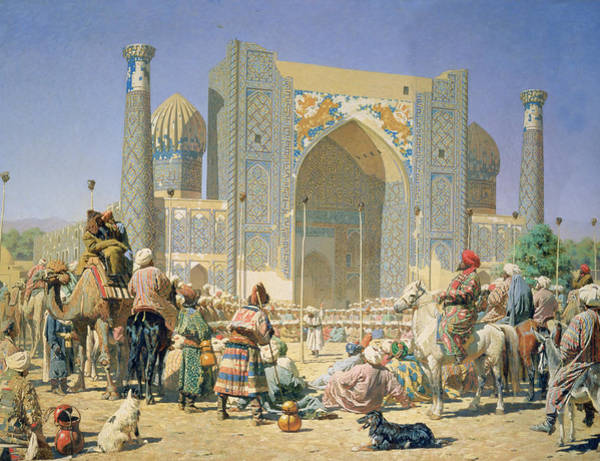 Dromedary Wall Art - Photograph - They Are Triumphant, 1871-72 Oil On Canvas by Vasili Vasilievich Vereshchagin