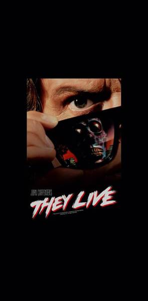 Wall Art - Digital Art - They Live - Poster by Brand A