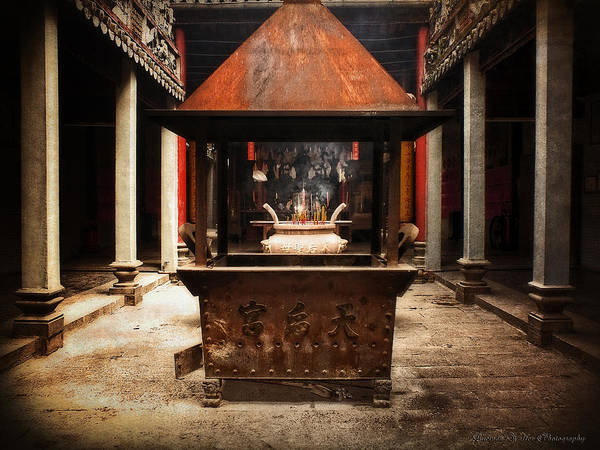 Photograph - Thien Hau Temple  by Lucinda Walter