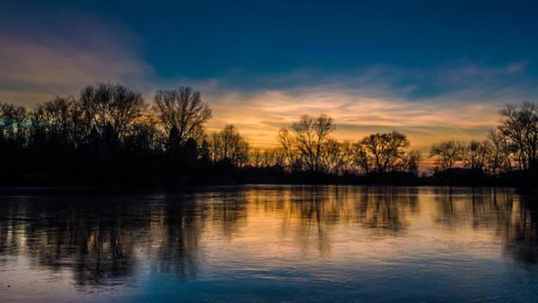 Photograph - Thin Ice by Randy Scherkenbach