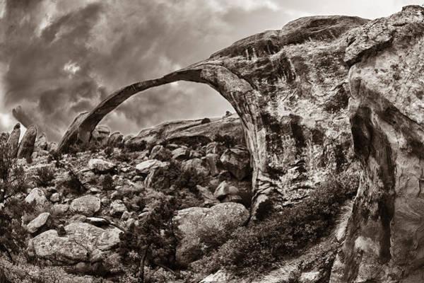 Wall Art - Photograph - Thin Natural Arch by Juan Carlos Diaz Parra