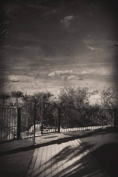 Iron Fence Wall Art - Photograph - Things We May Never Know by Laurie Search