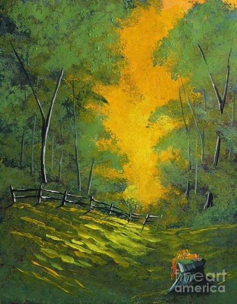 Wall Art - Painting - Thinking Green by Steven Lebron Langston
