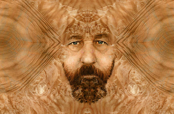 Digital Art - Thinking In Wood by Rick Mosher