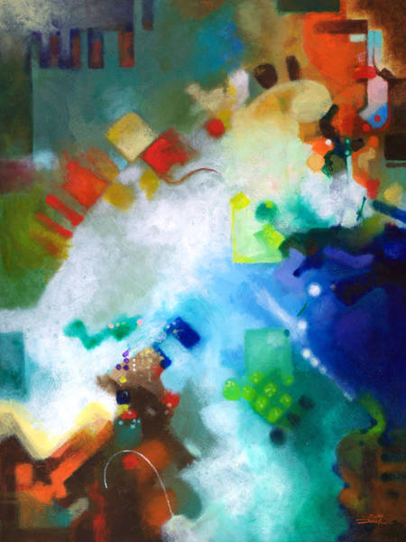 Painting - Third Level Harmonics by Sally Trace