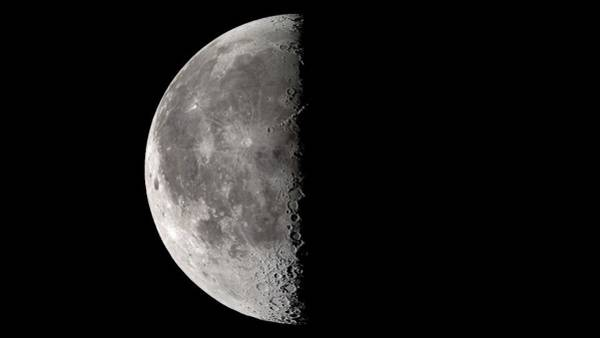 Lola Photograph - Third Quarter Moon by Nasa's Scientific Visualization Studio/science Photo Library