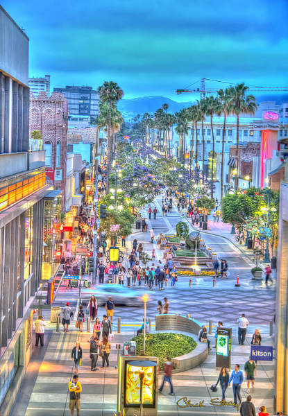 Photograph - Third Street Promenade by Chuck Staley