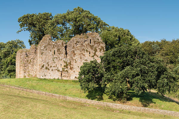 Greenhead Photograph - Thirlwall Castle by David Head