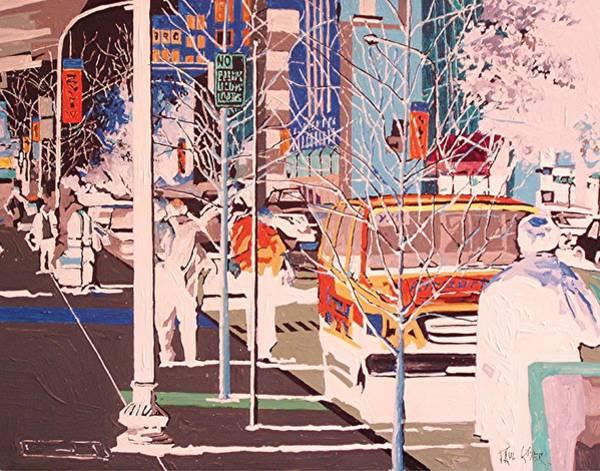 Thirteenth And J Art Print by Paul Guyer