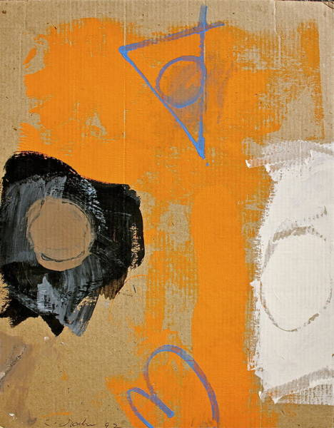 Painting - Thirty Four The Hard Way by Cliff Spohn