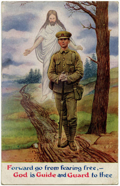 Wall Art - Drawing - This British Soldier Can Go Forward by Mary Evans Picture Library