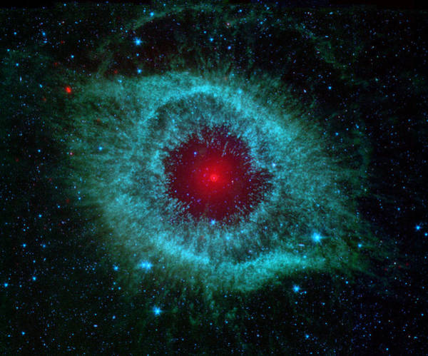 Photograph - This Infrared Image Of Helix Nebula by Celestial Images