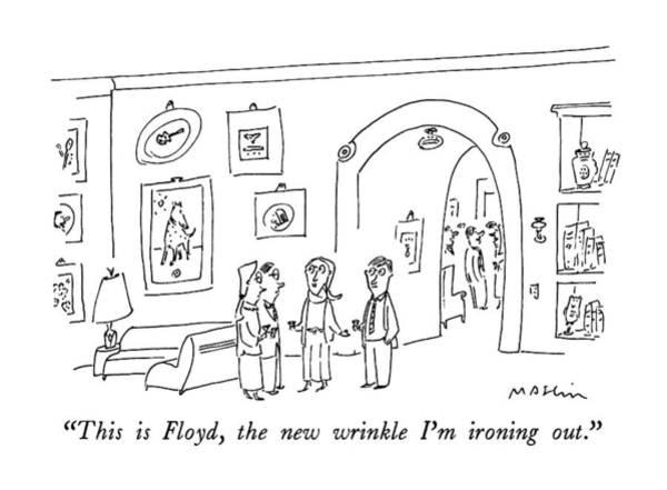 Boyfriend Drawing - This Is Floyd by Michael Maslin
