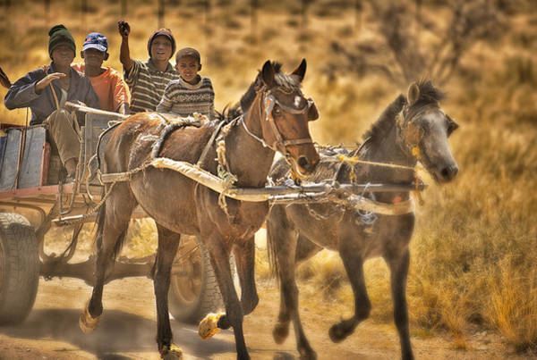 Wizard Hat Wall Art - Photograph - This Is Namibia No. 23 - Going To Town The Old Fashioned Way by Paul W Sharpe Aka Wizard of Wonders