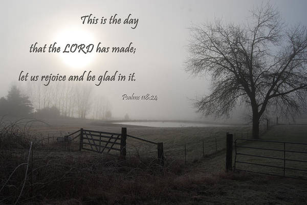 Photograph - This Is The Day That The Lord Has Made by Jani Freimann