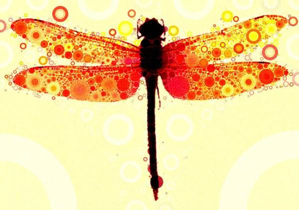 Dragonflies Digital Art - This May Be Rash by Steven Boland