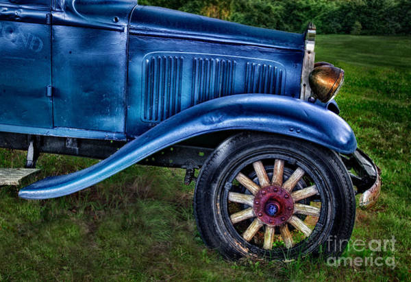 Photograph - This Old Car by Susan Candelario